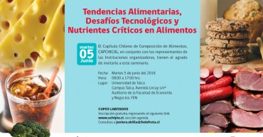 Invitacion CAPCHICAL Seminario 5 junio 2018